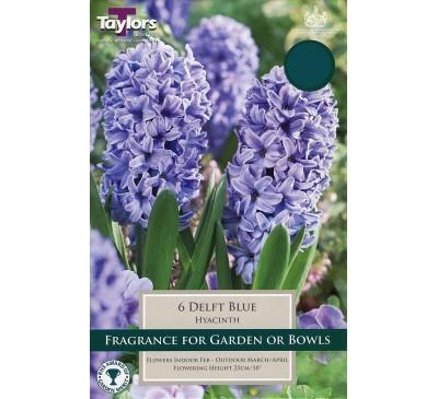 Hyacinth Delft Blue Bedding