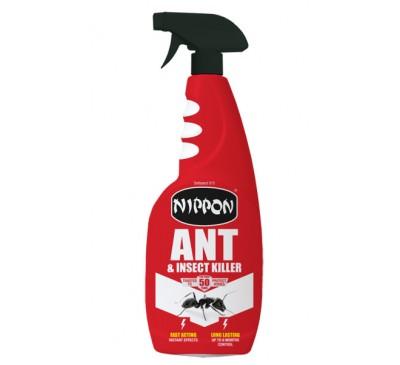 Nippon Ant & Crawling Insect Killer RTU750ml