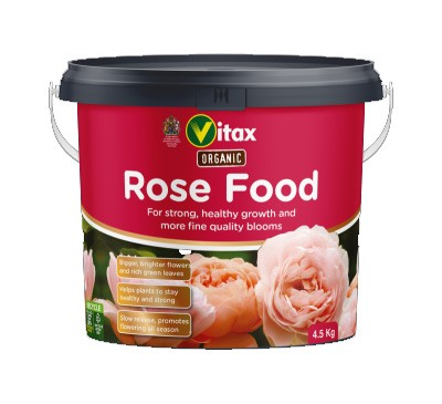 Vitax Organic Rose Food 4.5kg