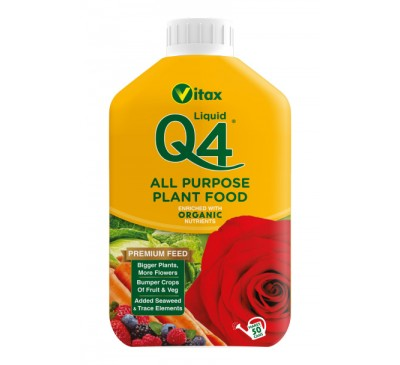 Vitax Q4 All Purpose Plant Food Liquid 1 ltr