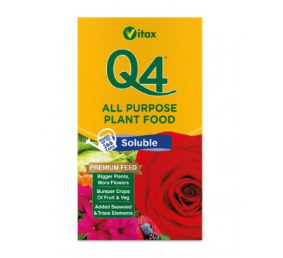 Vitax Q4 Soluble Plant Food 1kg