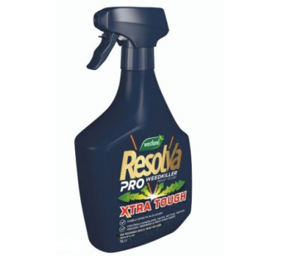 Resolva Pro Weedkiller Xtra Tough Ready to Use 1ltr