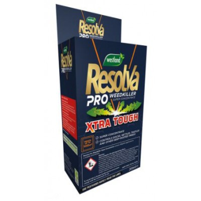 Resolva Pro Weedkiller Super Concentrate  Xtra Tough 200ml