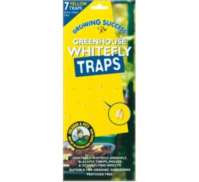 Growing Success Greenhouse Whitefly Traps 7 panels
