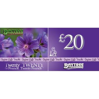 Baytree £20 Gift Voucher