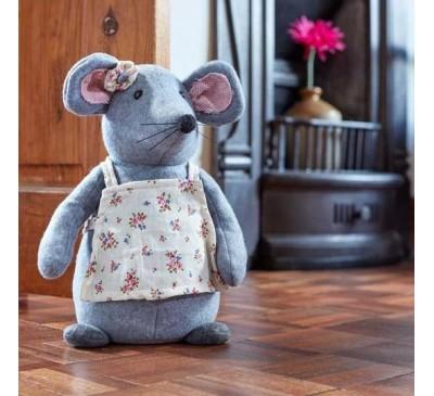 Cute Fabric Mouse Doorstop