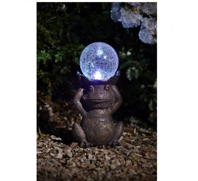 Smart Solar- Gazing Frog