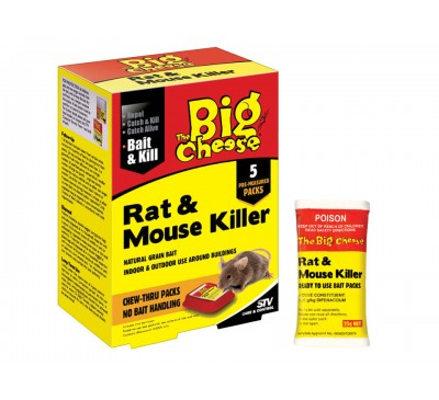 Rat and Mouse Killer Chew-Thru Packs