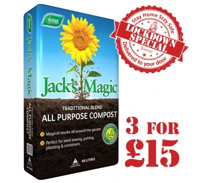 Westland Jacks Magic Compost 60L 3 for £15