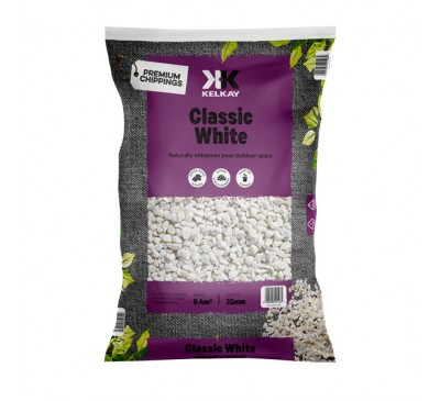 Classic White 20mm 2 Bags for £15 - 25kg Bag