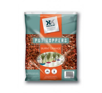 Burnt Orange Pot Topper Handy Pack