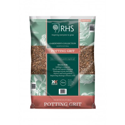 RHS Horticultural Potting Grit 25kg Bag Approx