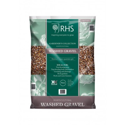 RHS Horticultural Washed Gravel 25kg Bag Approx