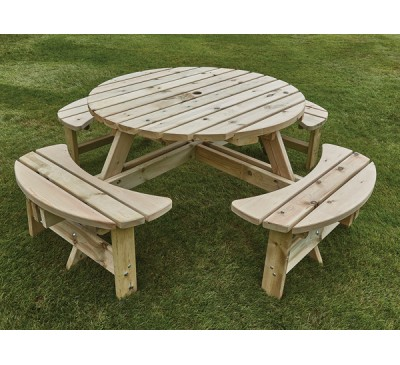 Appleton Round Picnic Bench
