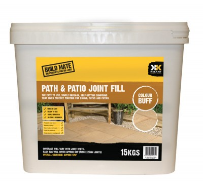 Patio Joint Filler Buff 15kg Tub