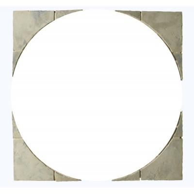 Minster Circle Patio Squaring Off Kit 1.8m wide Rustic Sage