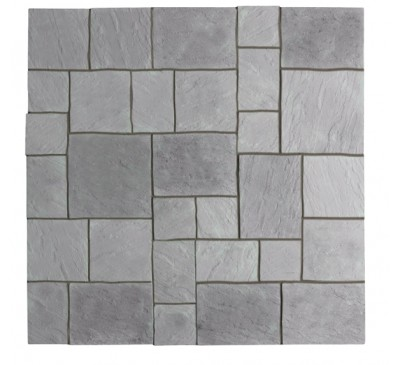 Abbey Paving Kit 2.4m wide Graphite