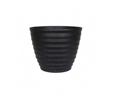 Hudson Black Plant Pot Large