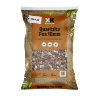 Quartize Pea Gravel 10mm 4 Bags for £15 - 25kg Bag (approx)