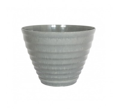 Vale Plant Pot with built in Saucer
