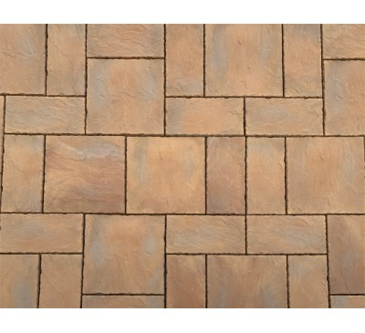 Windsor Patio Kit 3m x 2.4m Mellow Stone