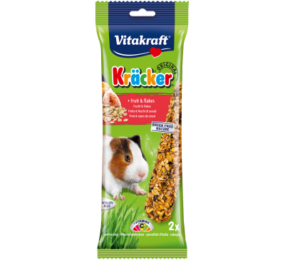 Vitakraft Kräcker Original + Fruit & Flakes Guinea Pig 2pcs