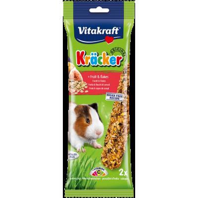 Vitakraft Kräcker Original + Fruit & Flakes Guinea Pig 2pcs