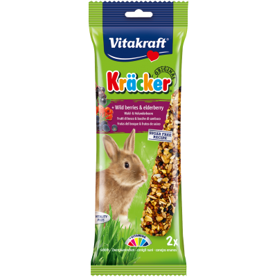 Vitakraft Kräcker Original + Wild Berries & Elderberry Rabbit 2pcs