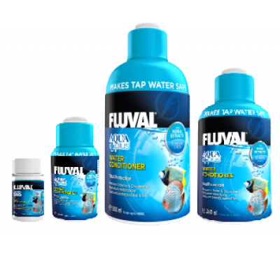 Fluval Aqua Plus Water Conditioner 30ml/120ml/250ml/500ml