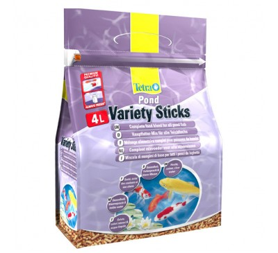Tetra Pond Variety Sticks 4L/600g