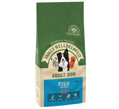 James Wellbeloved Fish & Rice Adult Dog 2kg