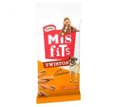 Misfits Twistos with Chicken 105g