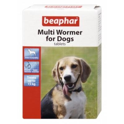 Beaphar Multi Wormer for Dogs 12x Tablets