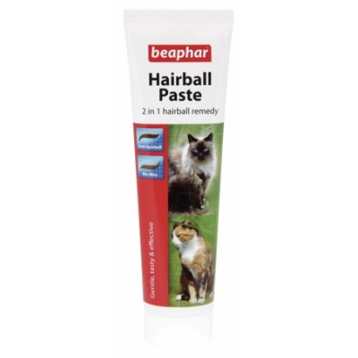 Beaphar 2-in-1 Hairball Paste 100g