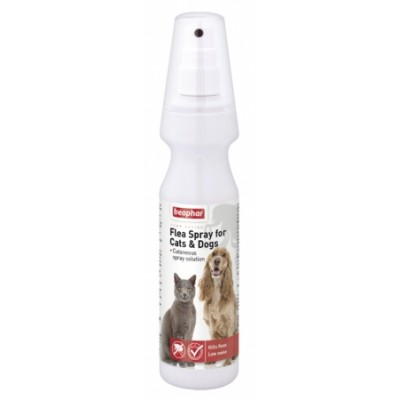 Beaphar Flea Spray for Cats & Dogs 150ml