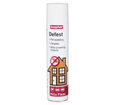 Beaphar Flea & Tick Defest Spray 400ml