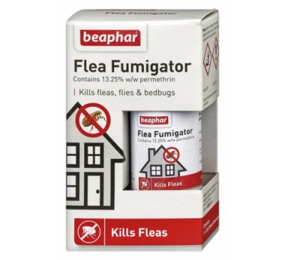 Beaphar Flea & Tick Fumigator 13.25% w/w permethrin