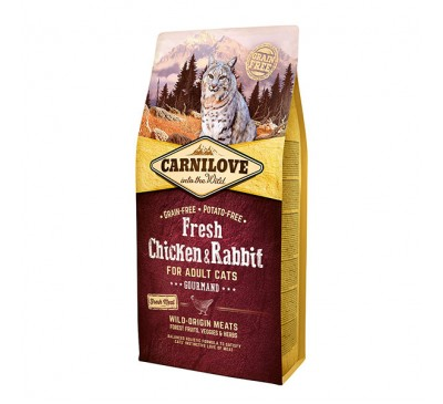 Carnilove Chicken & Rabbit Adult Cat 400g