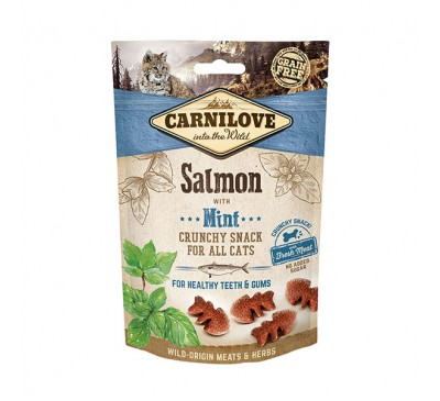 Carnilove Salmon with Mint Crunchy Cat Treats 50g