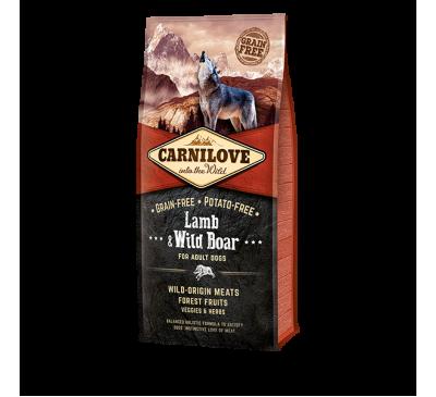 Carnilove Lamb & Wild Boar Adult Dog 1.5kg