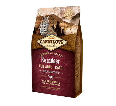 Carnilove Reindeer Adult Cat 400g