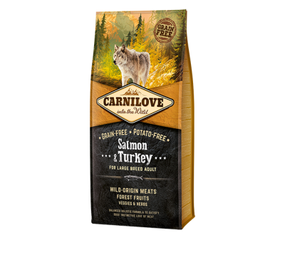 Carnilove Salmon & Turkey Large Breed Adult Dog 1.5kg