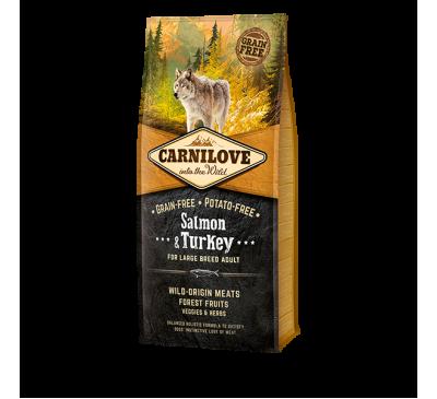 Carnilove Salmon & Turkey Large Breed Adult Dog 1.5kg