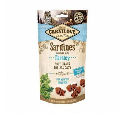 Carnilove Sardine with Parsley Soft Cat Treats 50g