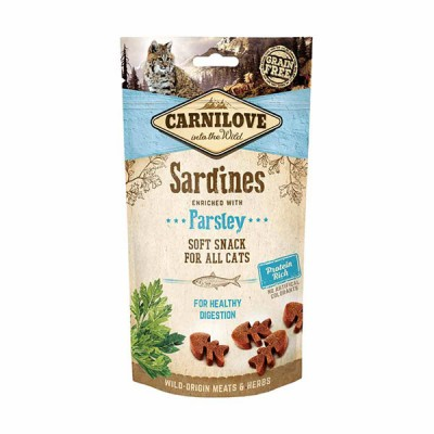 Carnilove Sardine with Parsley Soft Cat Treats 50g