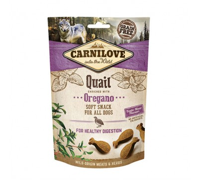 Carnilove Quail with Oregano Soft Dog Treats 200g