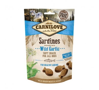 Carnilove Sardines with Wild Garlic Dog Treats 200g