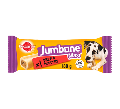 PEDIGREE® Maxi Jumbone™ Beef & Poultry 180g