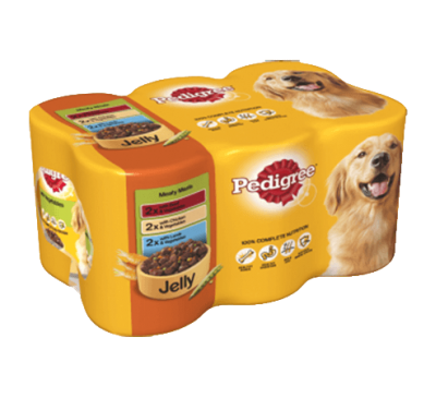 PEDIGREE® Meaty Meals in Jelly 6x400g