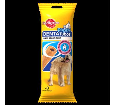 PEDIGREE® Denta Tubos™ for Puppies 3pk
